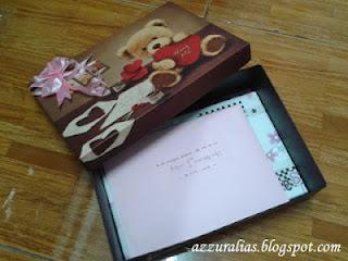 Kotak Haidah Comel, Kad Ucapan Perkahwinan, Idea Ulangtahun Perkahwinan