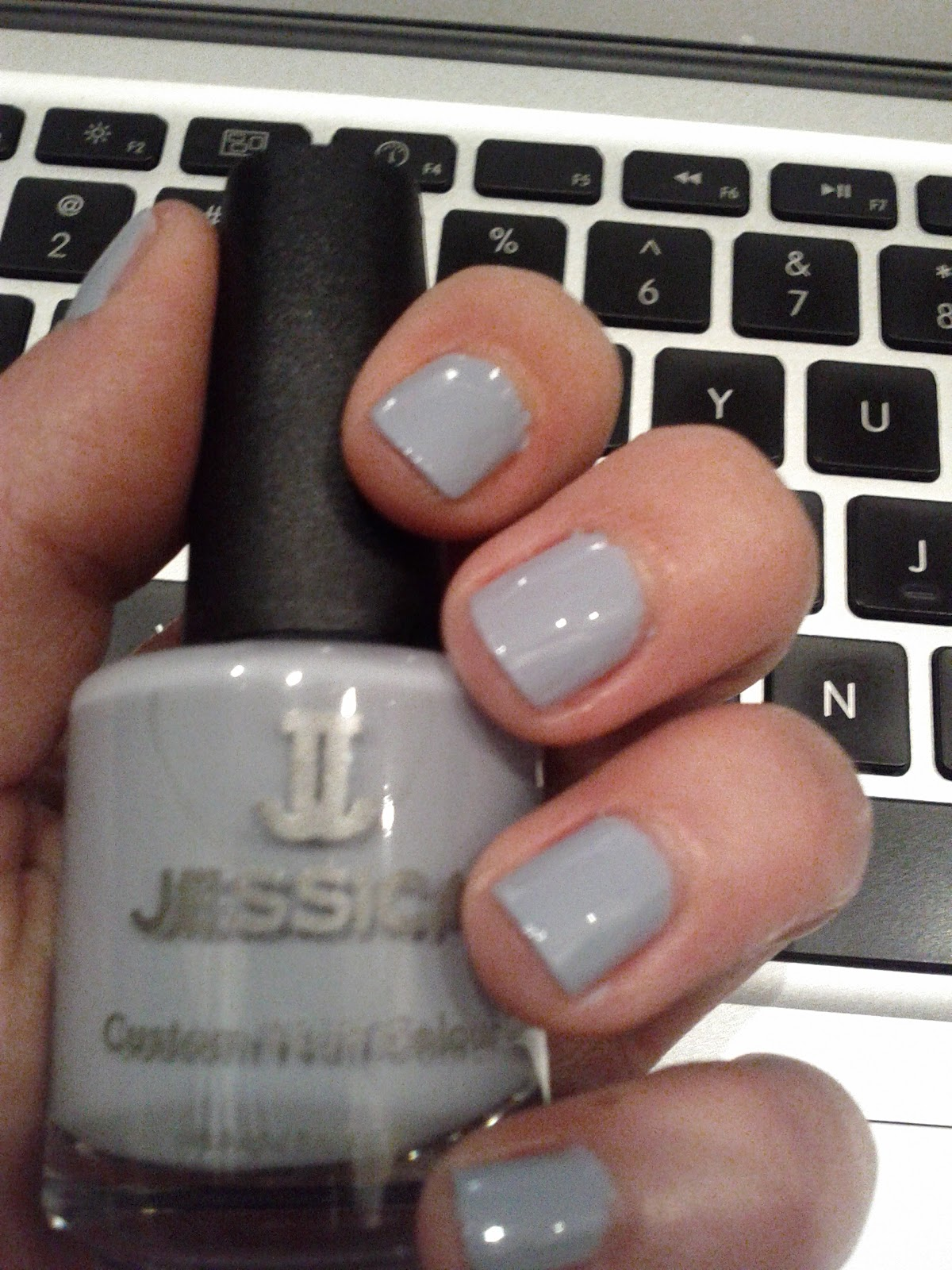 Lipgloss Break: Jessica nail polish in Sky High