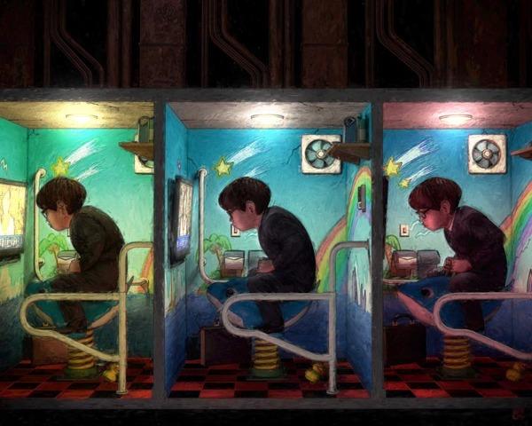 Doctor Ojiplático. Satoru Imatake. Ilustración | Illustration