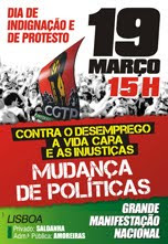 Manifestação de Protesto - 19 de Março 15.00