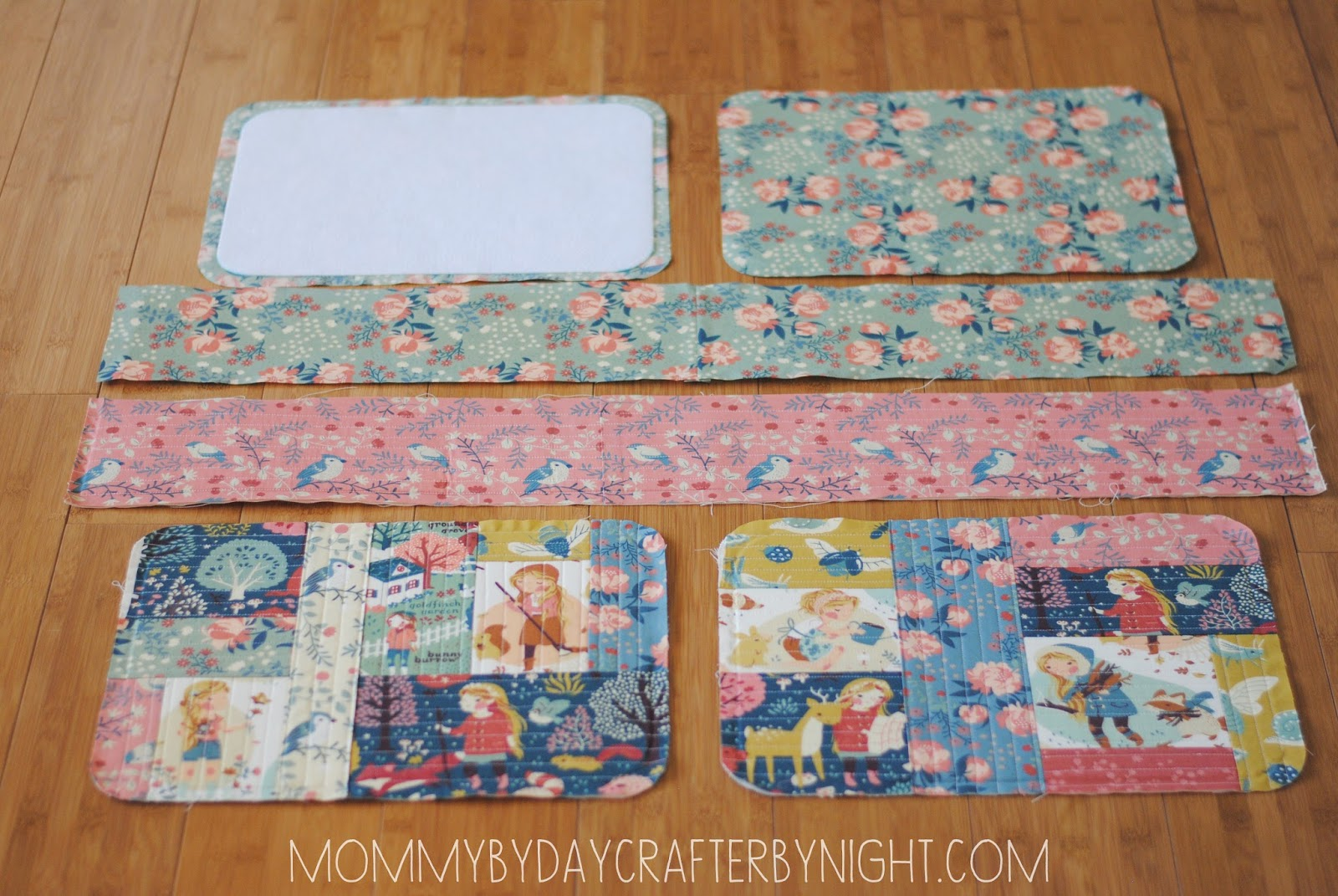 Mommy by day Crafter by nightQuilted Suitcase Tutorial