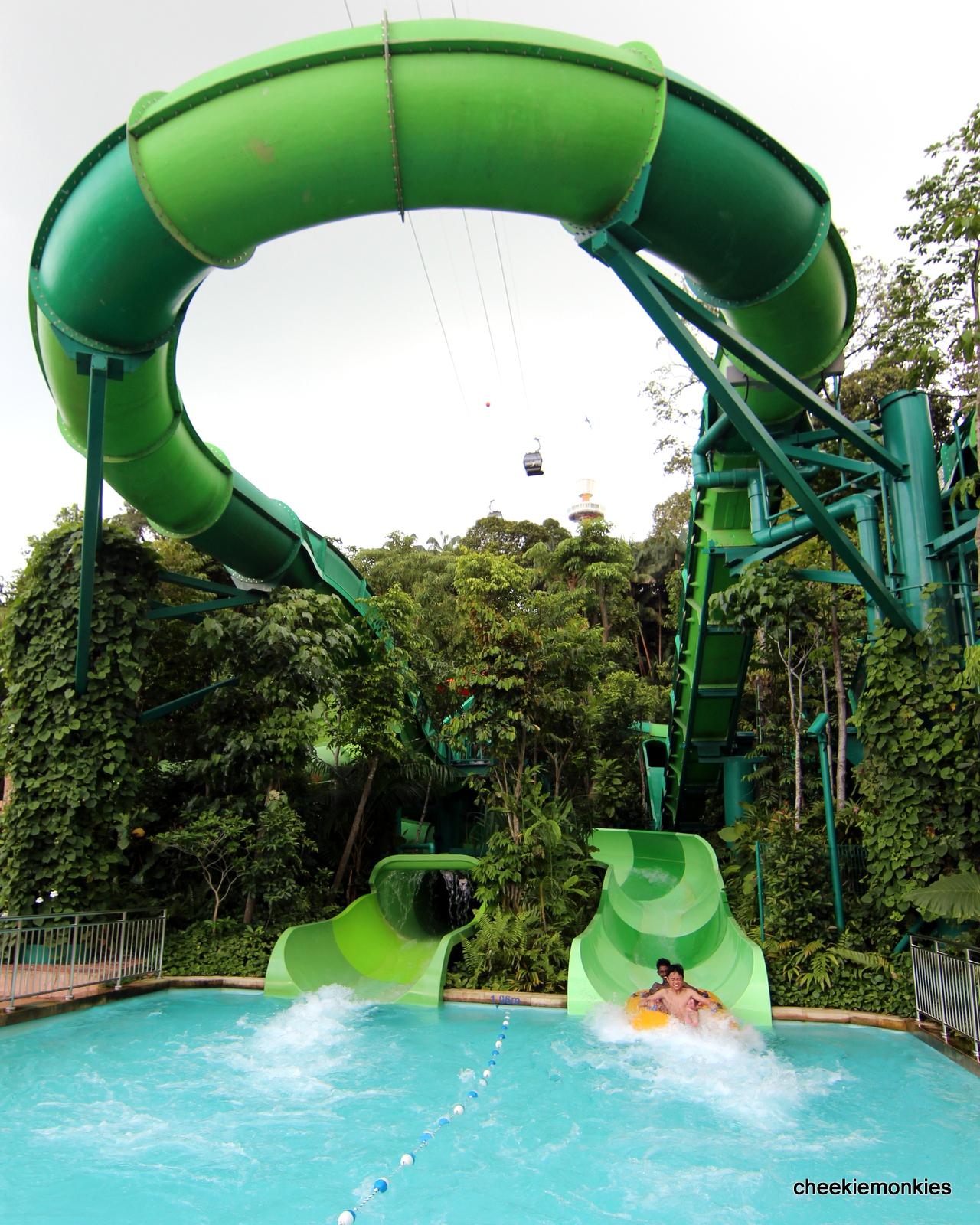 Cheekiemonkies Singapore Parenting Lifestyle Blog The Sampling Et Tiket Adventure Cove Park Of A Waterpark Cheekie Monkies