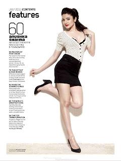 Annushka Sharma in maxim magazine