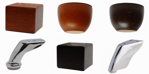 La tienda del sofa tipos de patas para sofas y sillones for Tipos de sillones