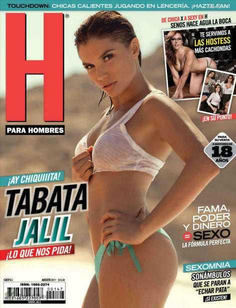 Tabata Jalil Revista H Agosto 2011