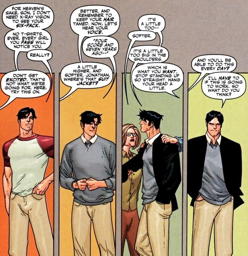 Book Girl: Art of the Day: Lois and Clark