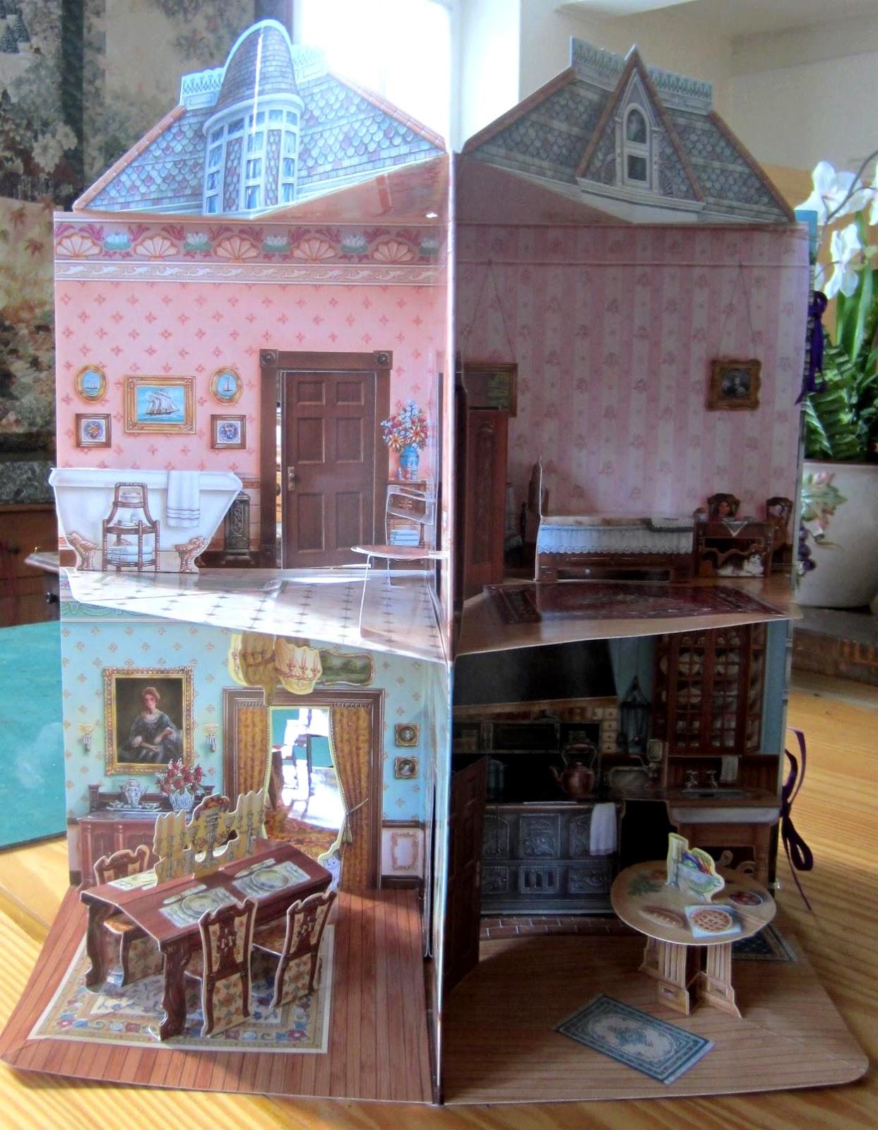 matin lumineux livre pop up maison victorienne. Black Bedroom Furniture Sets. Home Design Ideas