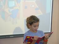 Lectura diaria y Biblioteca del centro