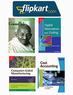 All Kind of Books @ Flipkart: Upto 97% Off with Free Home Delivery
