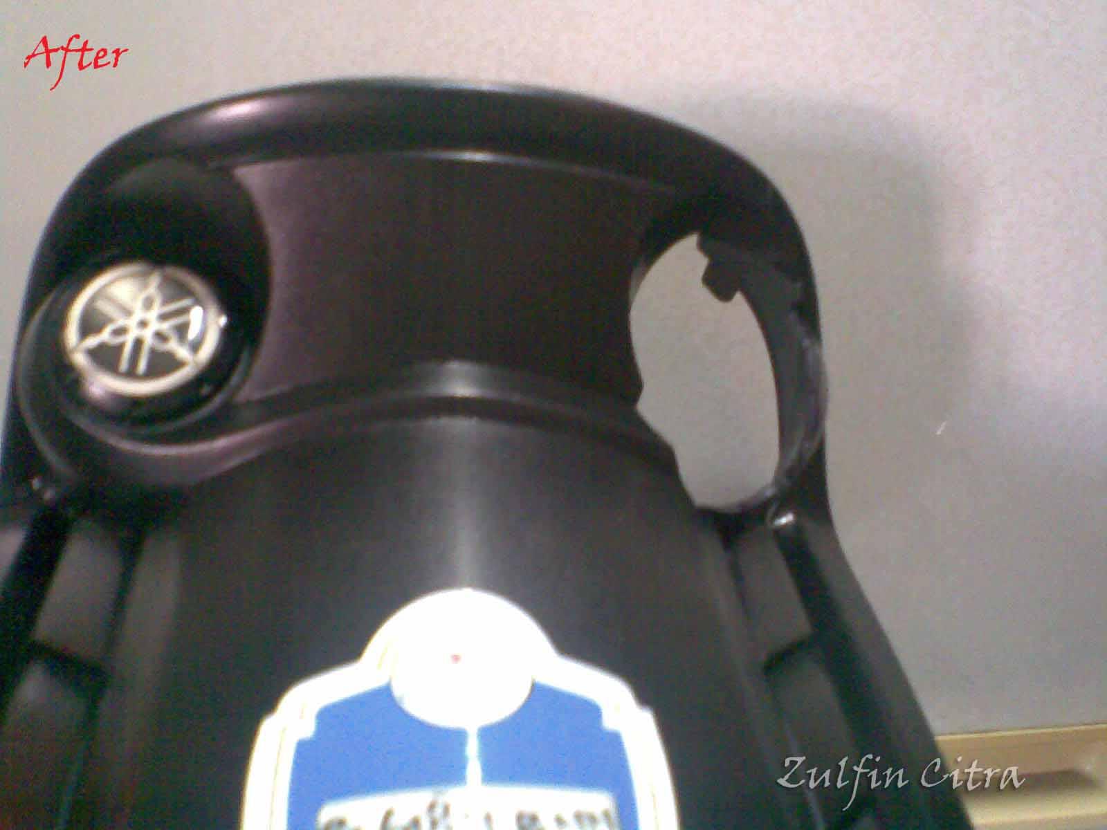 Blog Zulfin Mengganti Kunci Kontak Yamaha Jupiter Mx Old Dengan Lama Panel Tengah Yg Dicoak Untuk Tempat