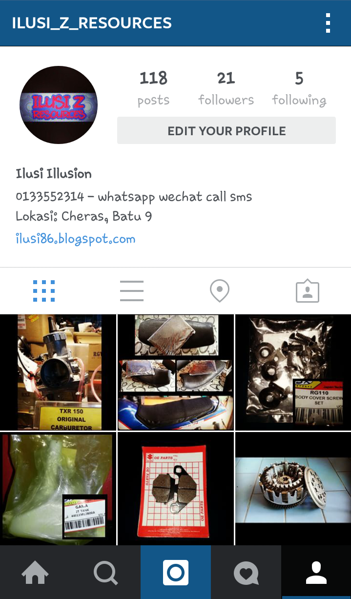 Follow my Instagram