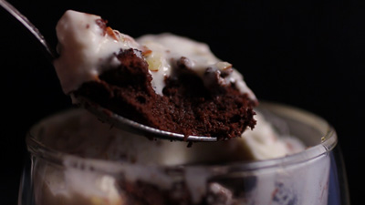 David Elmore: Chocolate Soufflés with Nougat Whip (Warning: Intended ...