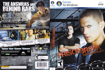 Prison Break The Conspiracy PC DVD Capa