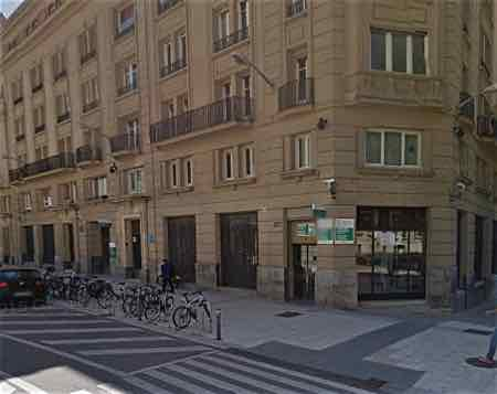 Vista de Google street view de la Oficina de Olaguíbel