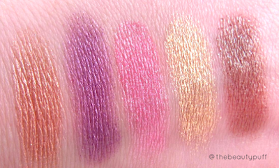 stilazzi swatches - the beauty puff