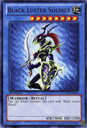 black luster soldier yu gi oh monstros de duelo