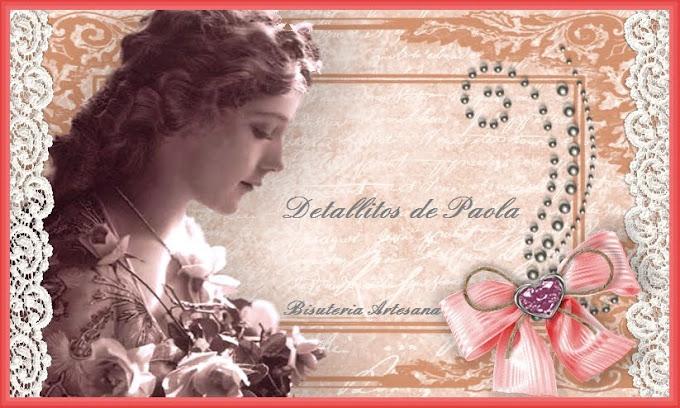 Detallitos de Paola