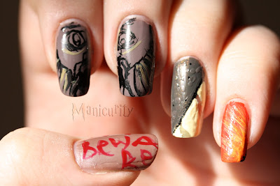 Harry Potter and the Chamber of Secrets nails