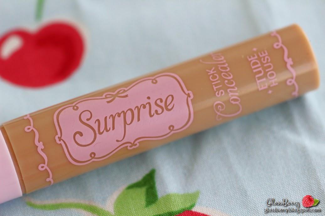 etude house surprise concealer stick review swatches קונסילר קוריאני אסיאתי בלוג איפור וטיפוח גלוסברי glossberry beauty blog