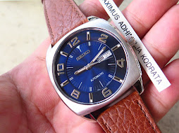 SEIKO BIG SUNBURST BLUE DIAL aka SEIKO RECRAFT SNKN37 - AUTOMATIC 7S26C - BRAND NEW WATCH