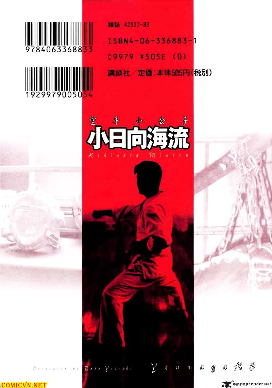 Karate Shoukoushi Kohinata Minoru chap 9 Trang 25