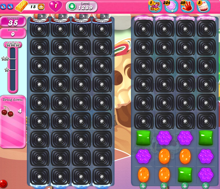Candy Crush Saga 1289