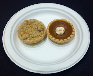 mini apple and pumpkin pies