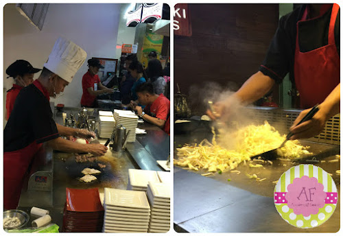Teppanyaki Brothers dishes cooked right in front of you