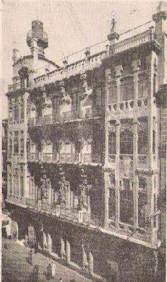 Centro Mercantil, Industrial y Agrícola de Zaragoza en 1957