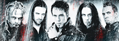 Kamelot 2012 lineup with Tommy Karevik as the new lead singer