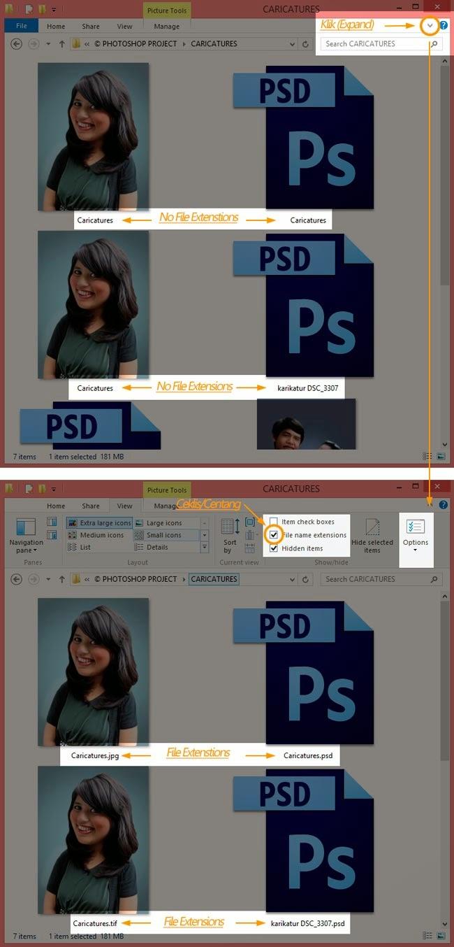 Edit Photoshop CS: Cara Membuka Foto ke Photoshop Windows