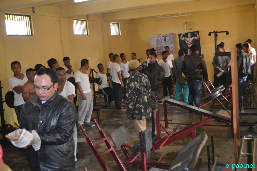Gym items for manipur jail inmates animal gym imphal manipur
