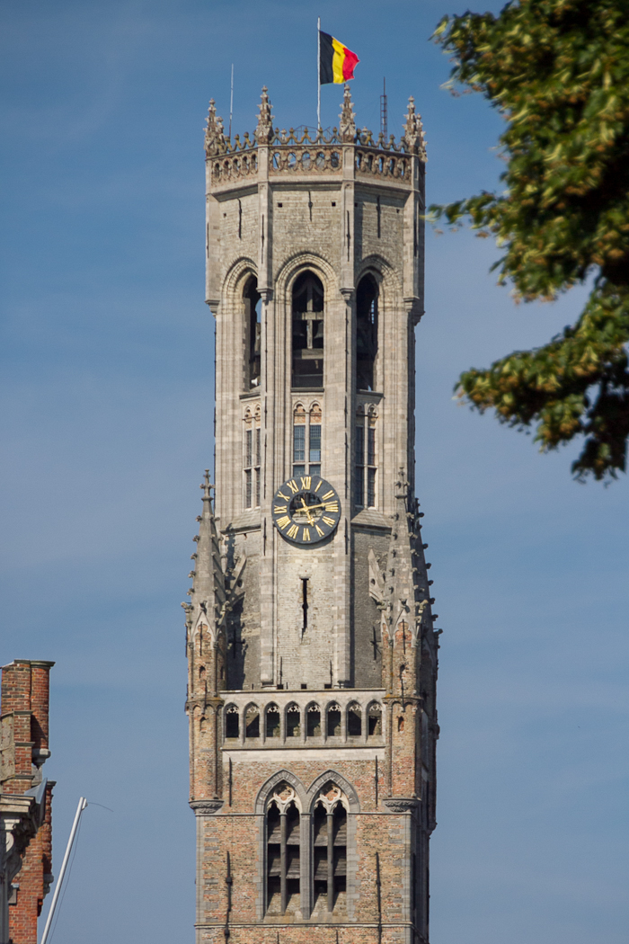 The tower of Bruges