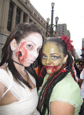 zombie walk 2011, Beauty Rock, fotos