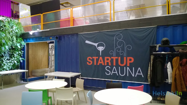Start Up Sauna in Espoo