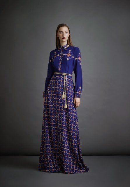 Russian designer A La Russe Pre Fall 2014 | Mode-sty #nolayering tznius tzniut jewish orthodox muslim islamic pentecostal mormon lds evangelical christian apostolic mission clothes Jerusalem trip hijab fashion modest