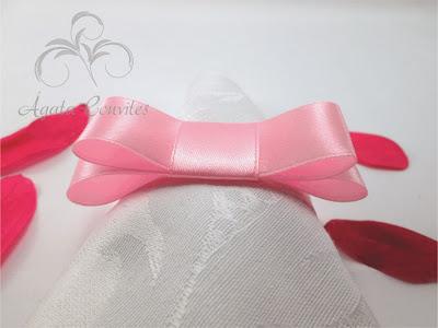 Porta Guardanapo com Laço Chanel, Porta guardanapo para Casamento, Porta guardanapo, laço chanel, porta guardanapo para batizado,
