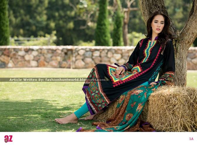 Ayesha Zara Spring Summer 2015