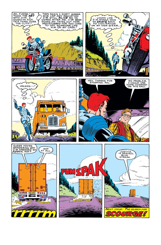 Captain America (1968) Issue #318 #246 - English 23