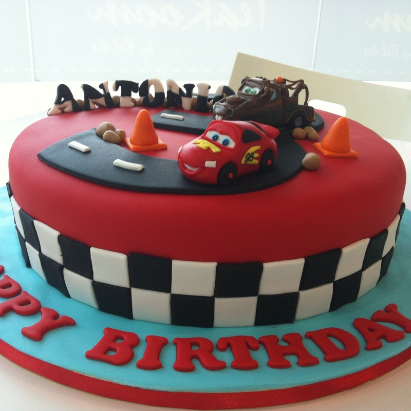 TeaRoom By Bel Jee Cars Cake - Birthday cake cars 2