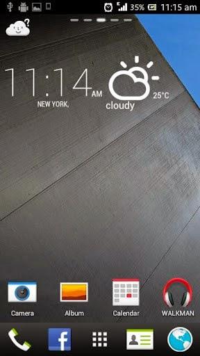 صورة اللانشر Launcher لاجهزة HTC Sense