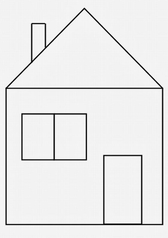 Der Bär im blauen Haus - gratis-Malvorlagen net - Malvorlagen Haus Kostenlos