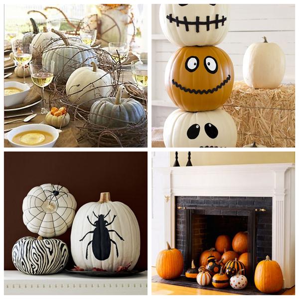 Dorable Calabazas Halloween Originales Para Nios Coleccin de