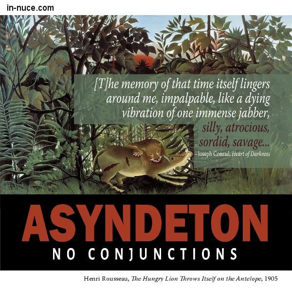 in-nuce.com asyndeton