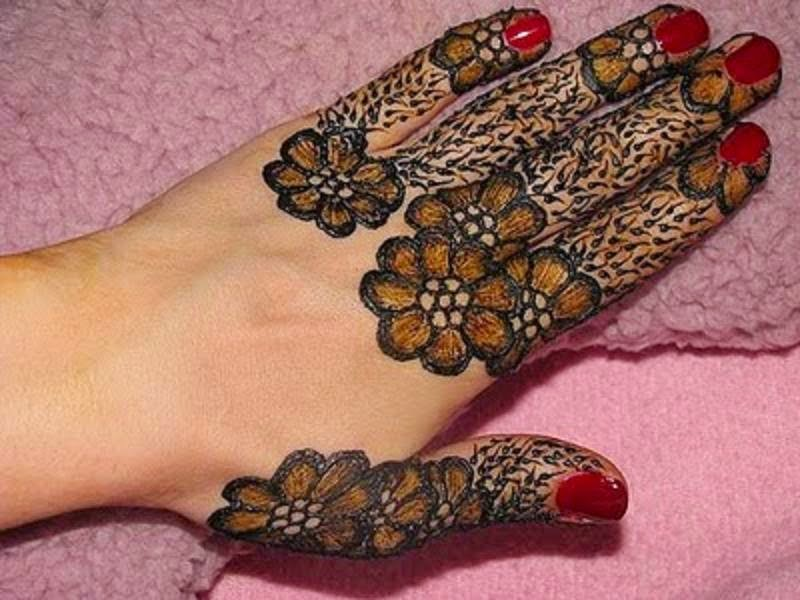 Fingers Mehndi Designs Pics : Small mehndi design for fingers with luxury pictures in ireland