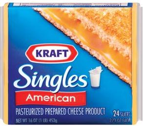 Kraft Singles,cheese,cheese slices