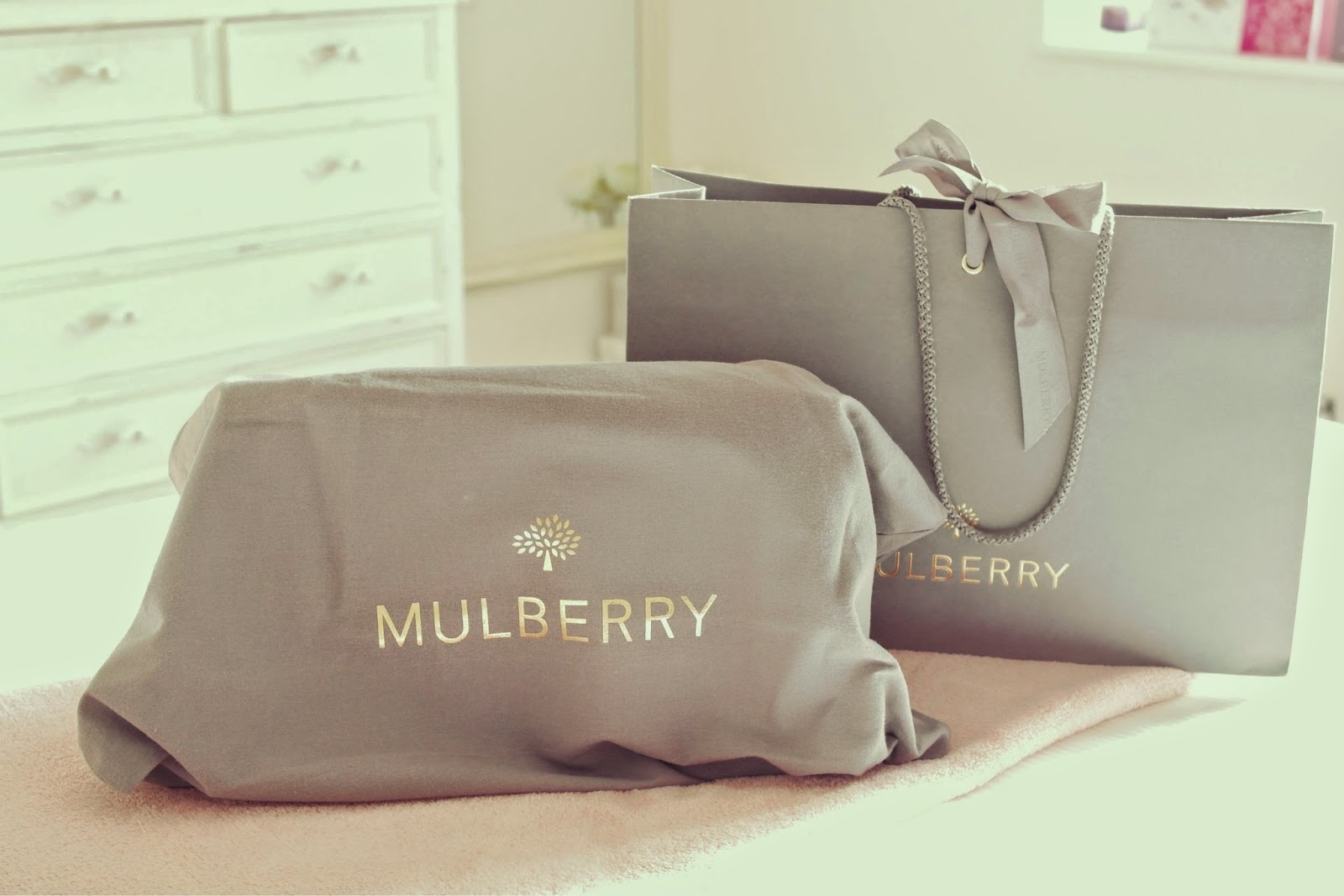 Mulberry handbag from bicester village