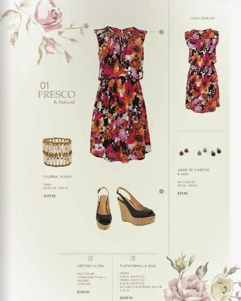Outfit con Vestido Stop Catalogo P-2015