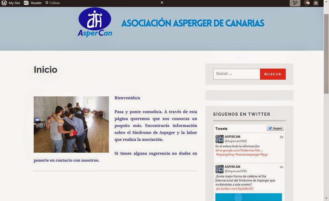¡OJO!: NUEVA WEB DE ASPERCAN