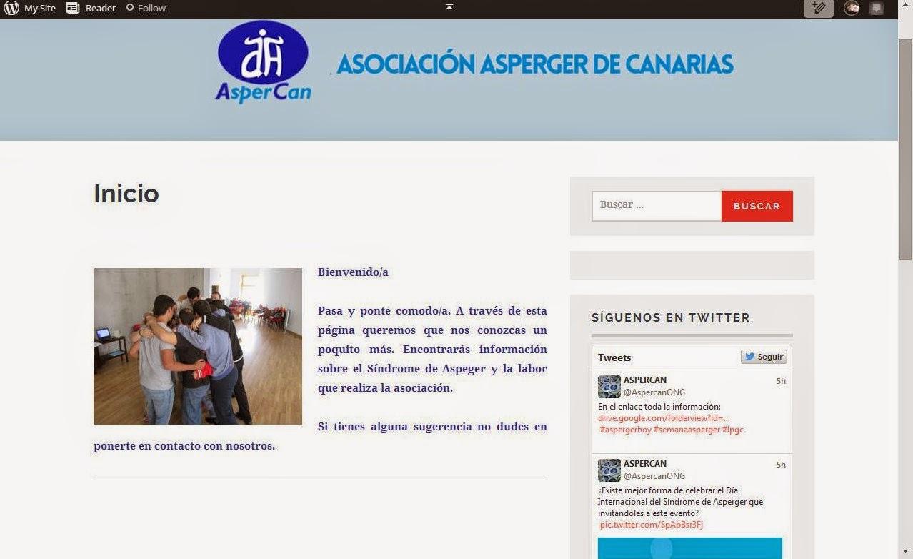 ¡OJO!: NUEVA WEB DE ASPERCAN